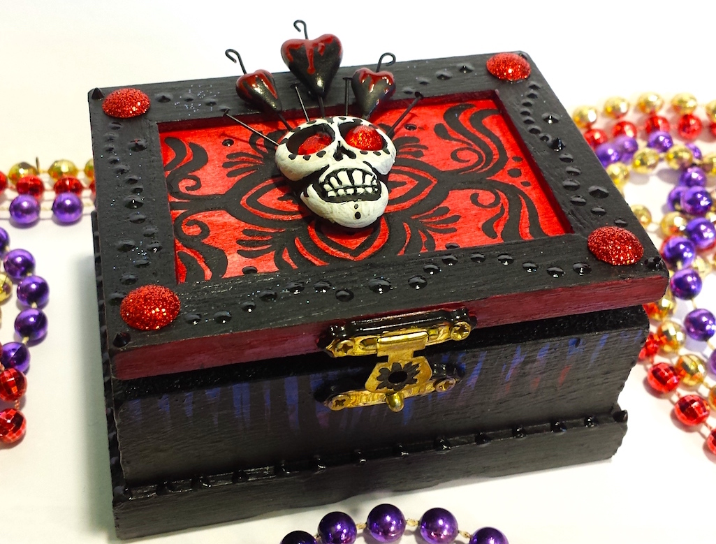 Day of the Dead Skull Box