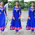 Aishwarya Rajesh Blue Churidar