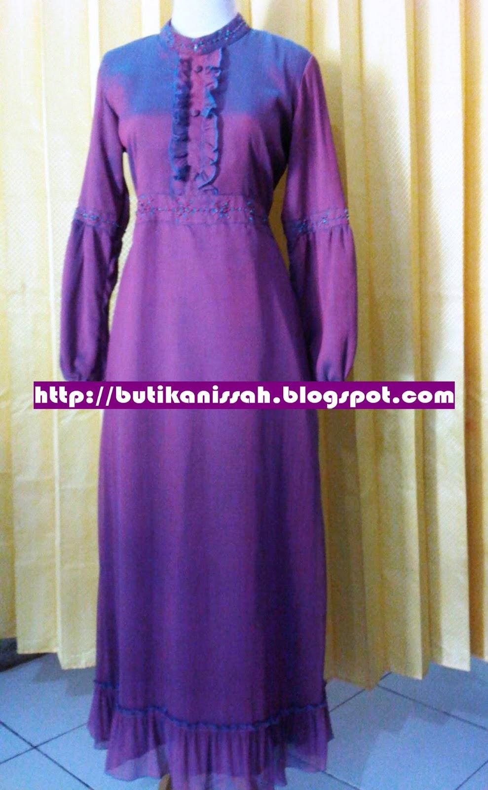 Pin butik baju muslimah di bandung on pinterest Baju gamis terbaru di bandung
