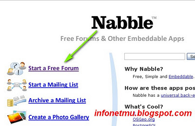 register nabble