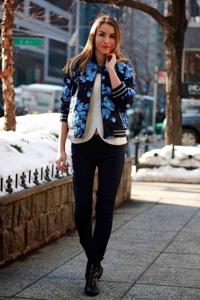 blue bomber jacket gap