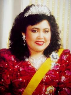 Kebawah Duli Yang Maha Mulia Paduka Seri Baginda Raja Isteri Pengiran