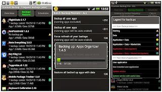 mem back up aplikasi yang terinstal