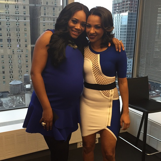 Yandy Smith pregnant with a baby girl