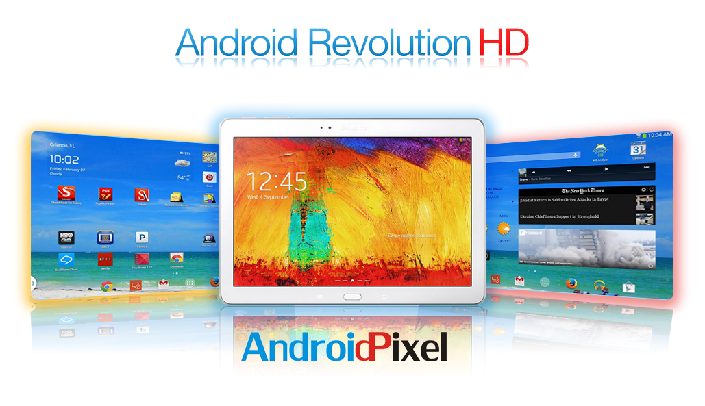 Android Revolution HD V1.1 ROM For Samsung Galaxy Note 10.1 2014 Edition