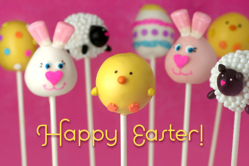 Cake Pop Designs For Easter : Domestic Charm: Easter Cake Pops