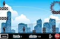 Ricochet Rampage iphone game walkthrough.