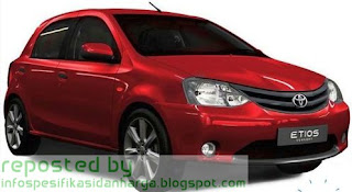 Harga Toyota Etios Liva Mobil Terbaru 2012