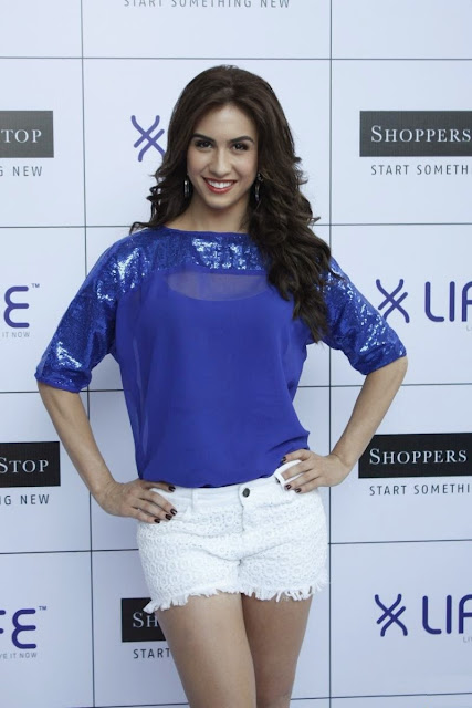 Lauren Gottlieb Displays Her Toned Sexy Legs At LIFE Brand's Latest Collection Launch