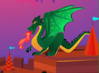 AgazGames Save Baby Dragon