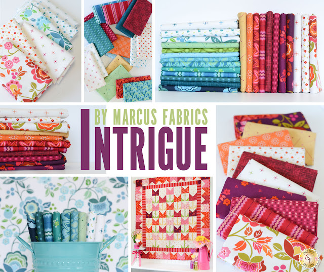 Intrigue by Nancy Rink for Marcus Fabrics | Shabby Fabrics