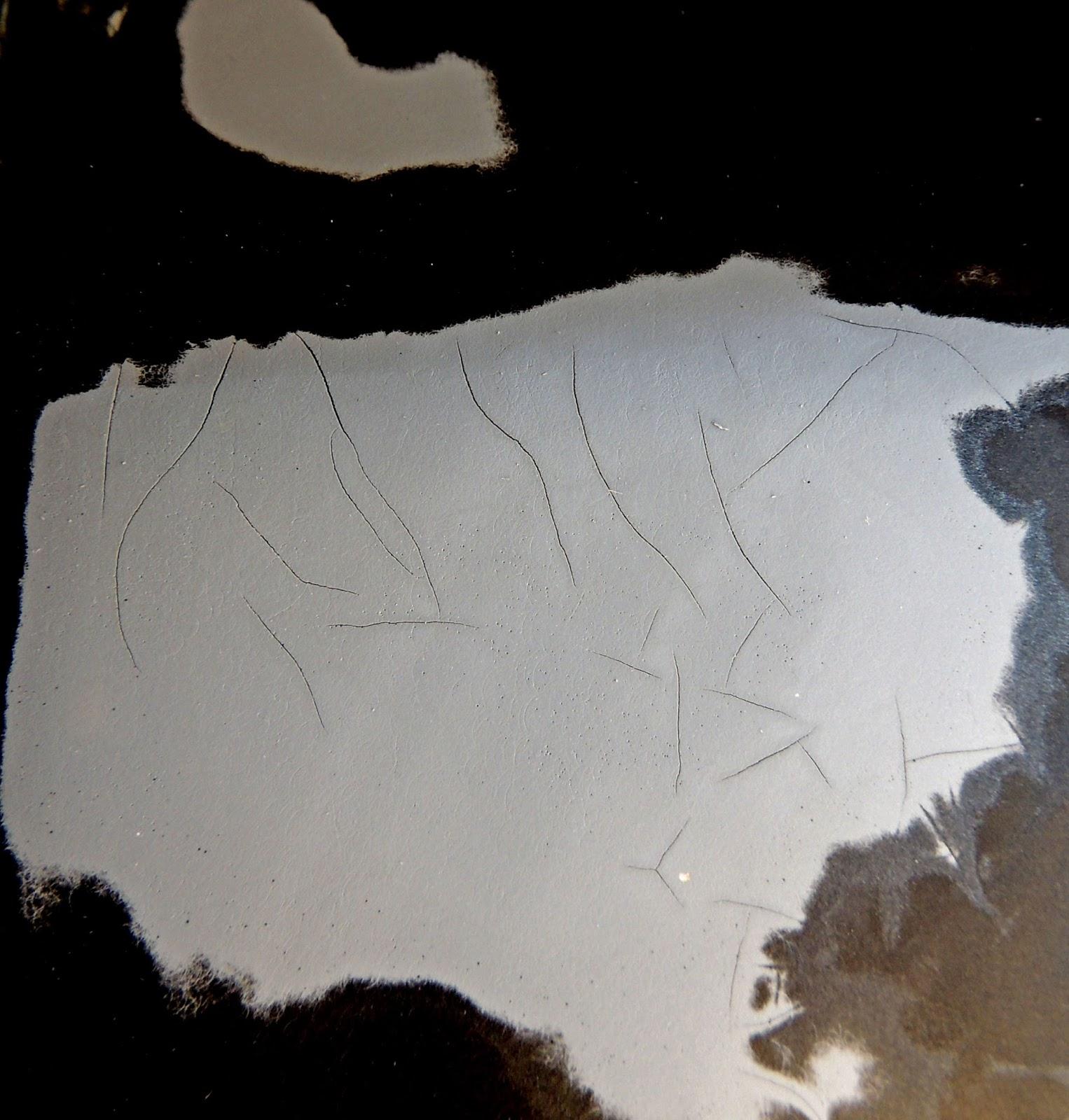 cracked fiberglass motorcycle saddlebags