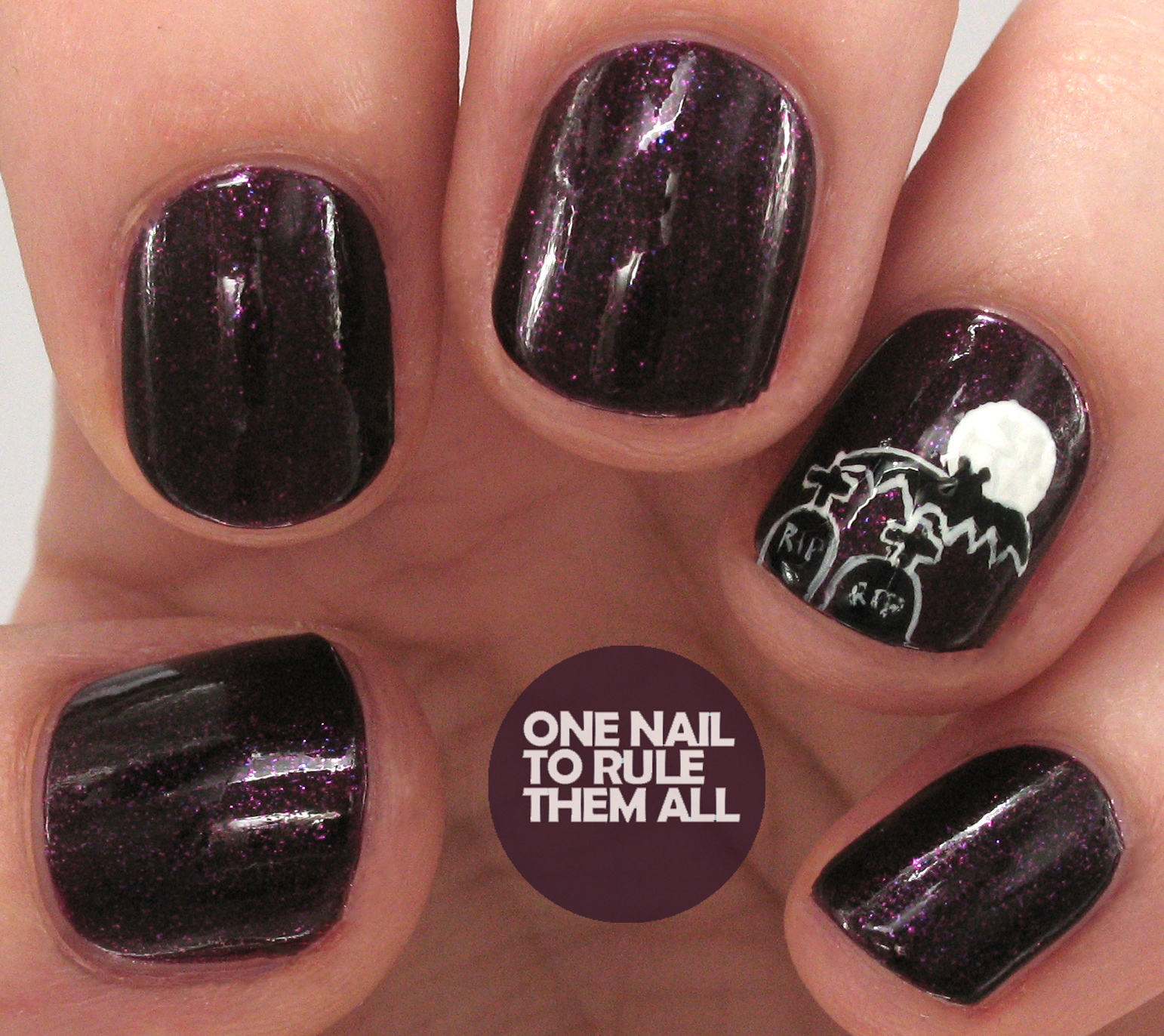 One Nail To Rule Them All: Barry M Halloween Accent