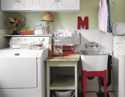 foto de lavandería