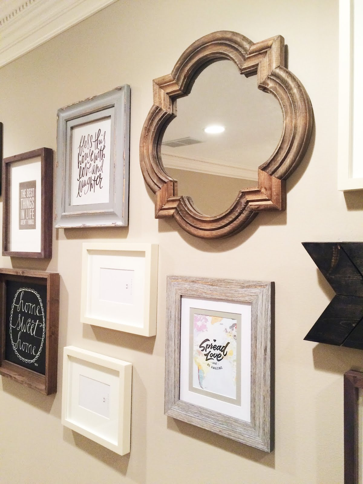 Jessica Stout Design}: Gallery Wall {Client Design}