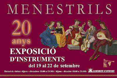 Mostra d'instruments (P.F.) menestrils musica medieval