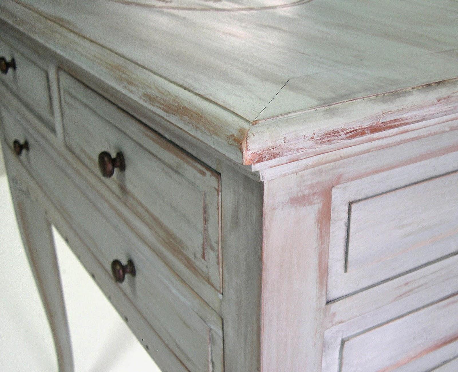 el chalky blog tecnica decapado con lija de pintura chalky