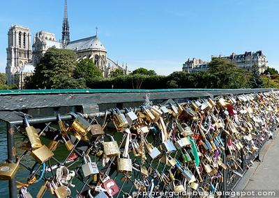 Notre Dame Pont de l'Archeveche Love Locks