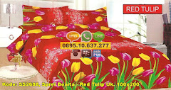 Harga Sprei Bonita – Red Tulip Uk. 180×200 Jual