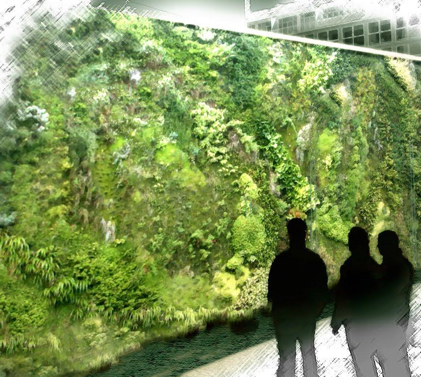 Progreencity aspectos ecologicos del proyecto for Muros verdes naturales