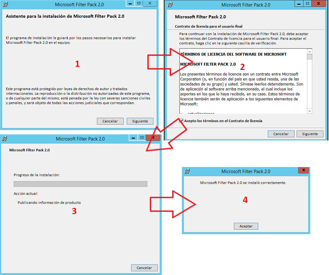 Microsoft exchange migrar un servidor - Office filter pack for exchange 2010 ...