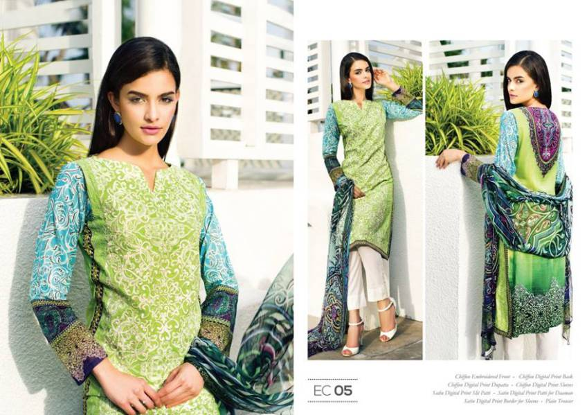 Resham Ghar Lawn Collection 2015