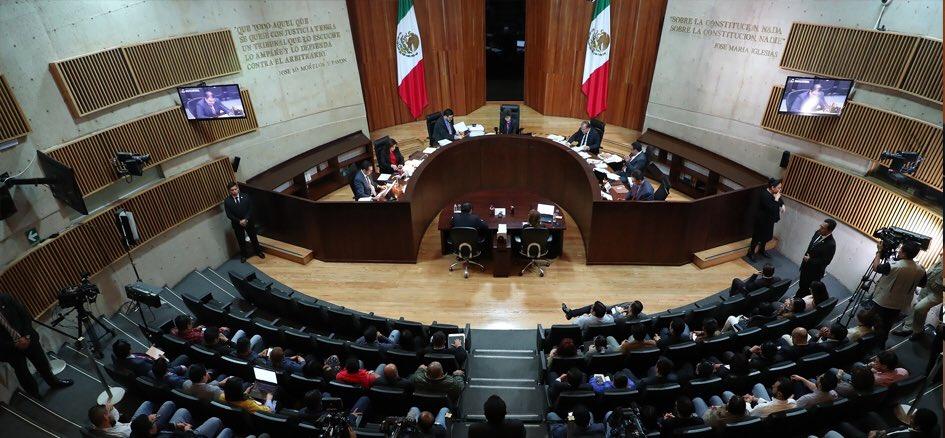 TEPJF declaró por mayoría de votos, la validez de la elección de la gubernatura de Puebla.