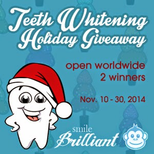 Teeth Whitening Holiday Giveaway