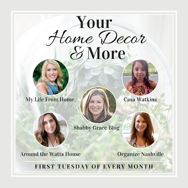 Your Home Decor & More Link Party Hosts // Interior Styling Tips & Tricks // Organize Nashville