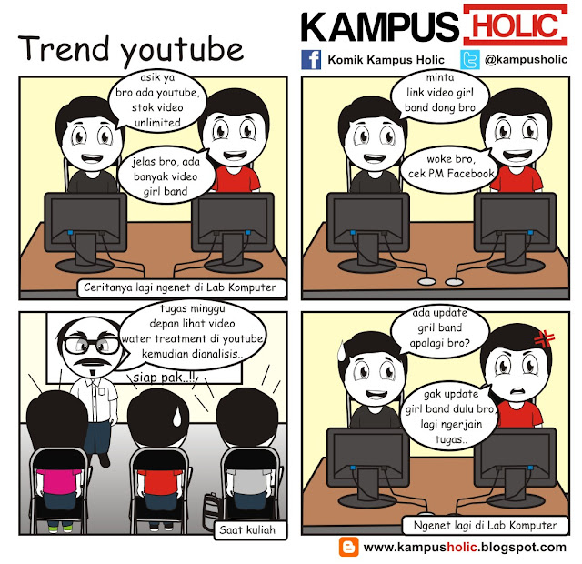 #086 Trend youtube kampus holic