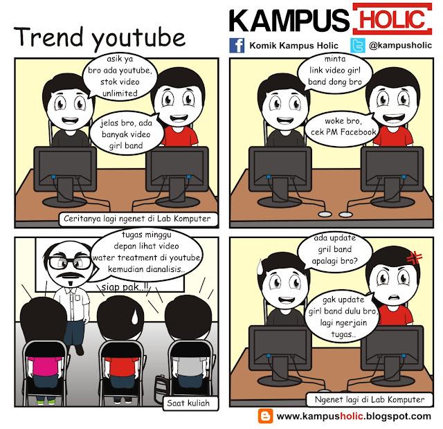 #086 Trend youtube kampus holic