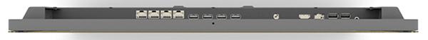 расположение портов в моноблоке Chromebase Commercial