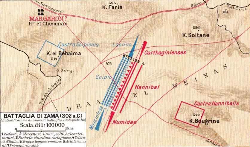 Hannibal Barca of Carthage: Hannibal's Tactics at Zama ...