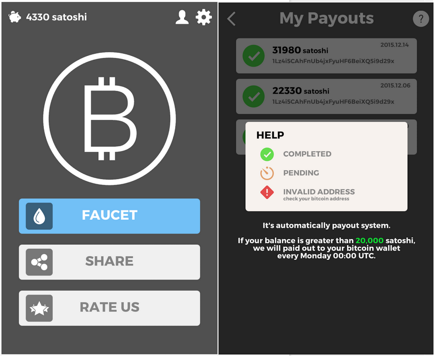 Bitcoin Faucet App For Android Who Generates Bitcoins