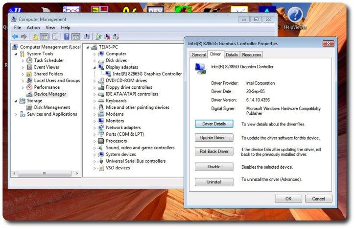 Gajjar Tejas 39 S Blog Intel R 82865g Graphics Controller