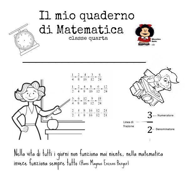 Extrêmement Sono solo una maestra-Maestra Anto: COPERTINA PER IL QUADERNO DI  DM43