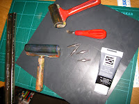 Lino printing equipment