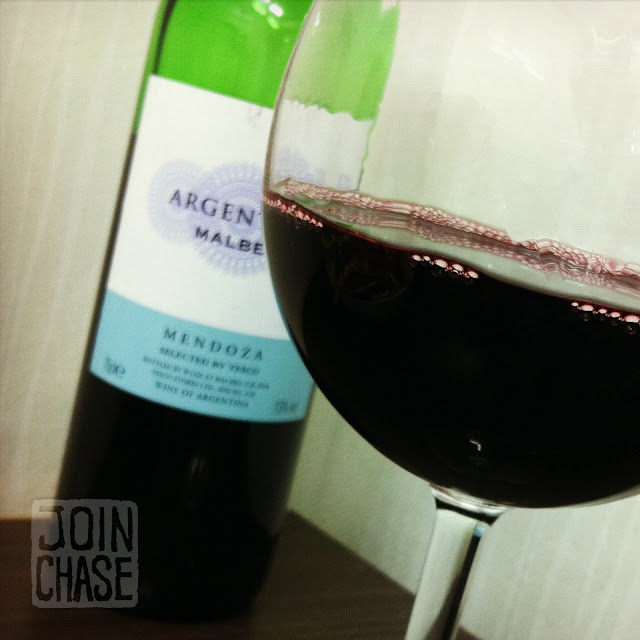 Malbec wine from Homeplus in South Korea.