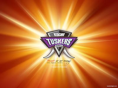 Kochi Tuskers Kerala Official Logo