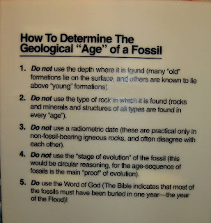 How to determine the Geological Age of a fossil - not like this!