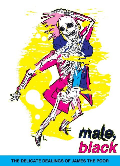 male, black