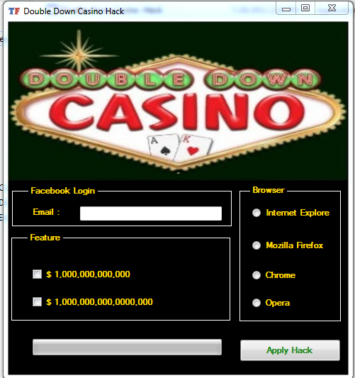 facebook double down casino hack