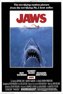 """Cartel de """"Tiburón"""" (Steven Spielberg, 1975)"""