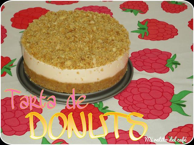 Tarta de donuts y mi primer cumpleblog!!