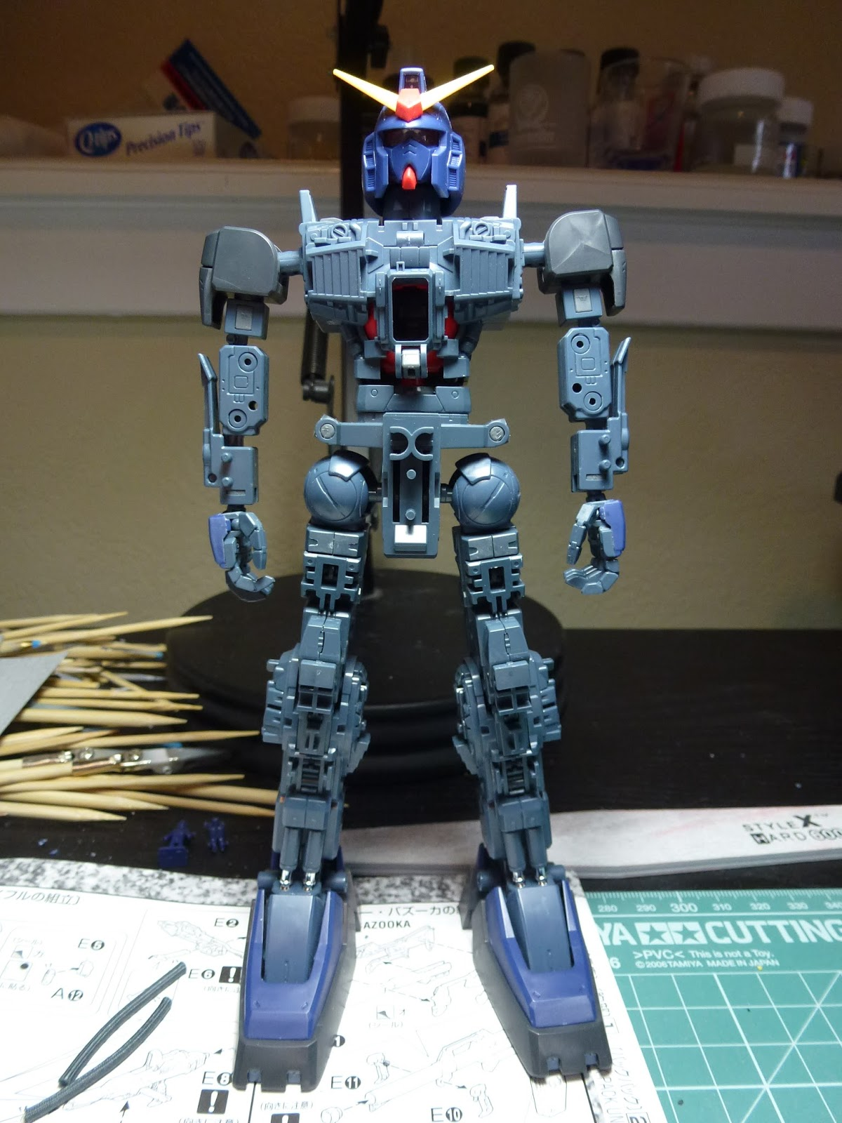 Gunplacore Mk Ii Walkthrough Part 3 Painting Inner Frame