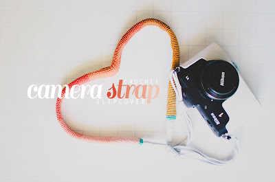 free crochet camera strap slipcover pattern