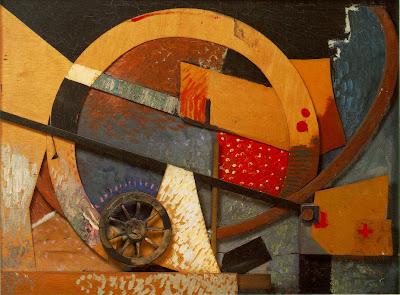 Kurt Schwitters. Neues Merzbild (New Merzpicture) (1931)