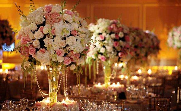 Casamento e algo mais As cores da decoração