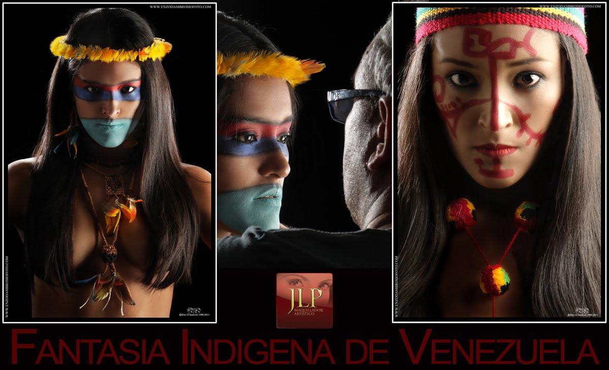 Como ya lo he escrito en el capitulo de la historia del maquillaje, este  arte es usado por los indígenas de todos los continentes desde tiempos  remotos,