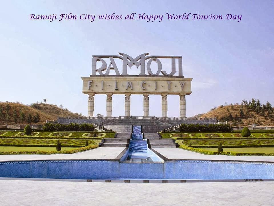 Ramoji film city tour,World tourism day,Ramoji film city latest news